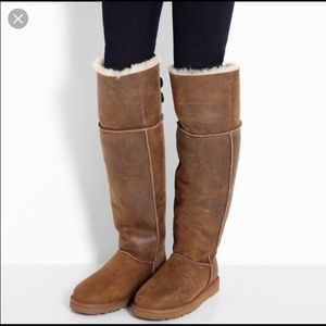 acf9fbc4f37 Women Ugg Bailey Button Over The Knee Boots on Poshmark